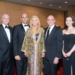 Eric Schaeffer, from left, Tyson Voelkel, Marie Taylor Bosarge, Bruce Eames and Sunday Riley at the Houston Symphony Wine Dinner March 2014