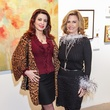15 Parissa Mohajer, left, and Melanie Campbell at the Art on the Avenue benefit November 2014