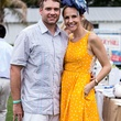 Matt and Allison Laird at the Yellowstone Academy polo party April 2014