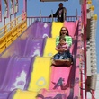 RodeoHouston, family friendly attractions, March 2013, slide