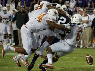 UT defense TCU game