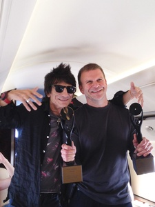 News_Ronnie Wood_Tilman Fertitta