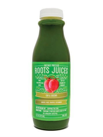 Roots Juice, one community table