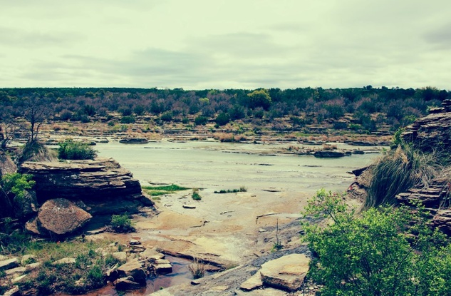 Texas Land Conservancy photo of Pedernales River