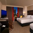 executive queen room at Hilton Austin downtown renovation rendering