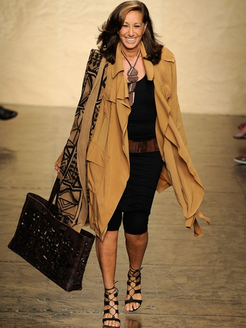 Fashion Week spring summer 2014 designer Donna Karan