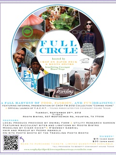 "CrOp by David Peck presents ""Full Circle"" benefiting Covenant House Texas"