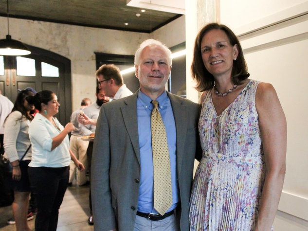 Houston Parks Board event, 7/16, Lee Ehmke, Anne Whitlock