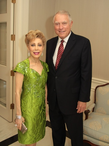 Baylor Friends dinner, October 2012, Margaret Alkek Williams, Jim Daniel