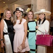Millette Sherman, from left, Gina Bhatia, Mary D'Andrea and Katherine Le at Hats Off to Mothers March 2014