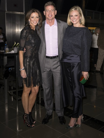 Charlotte Anderson, Troy Aikman, Jennifer Sampson, Unite Forever Gala