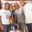 Tailgating for a Cure hosted by Houston Texans Johnathan Joseph and Kareem Jackson October 2013 Kyssi Andrews with Brice McClain, Brian Cushing, Arian Foster, Johnathan Joseph and Kareem Jackson