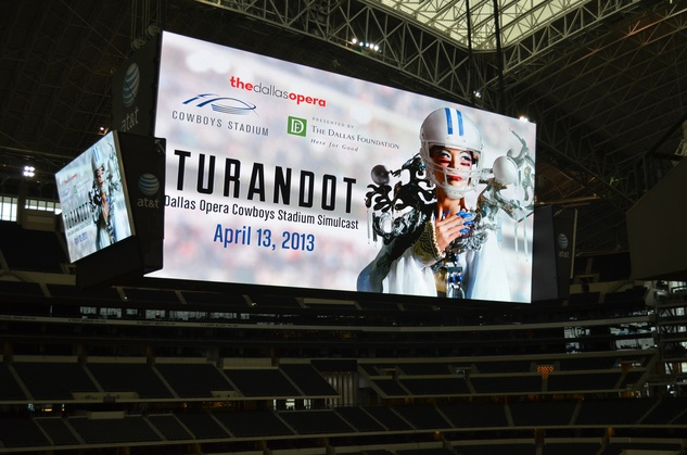 Dallas Opera's Turandot at Cowboys Stadium