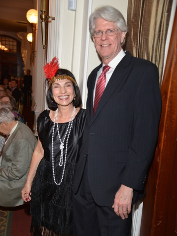 Bob and Marianna Simpson at the Houston Chamber Choir Gala April 2014