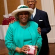 Audrey and Bill Lawson at Hats Off to Mothers March 2014
