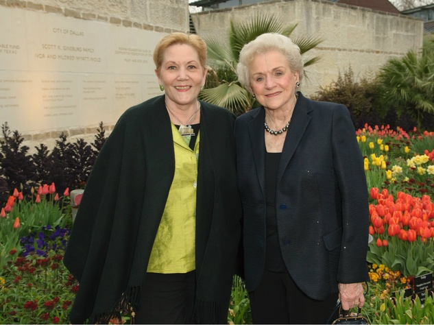 Lacy Naylor and Nancy Rutchik, Spring Dinner Event