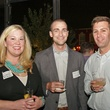 6 Celeste Byrom, from left, Dave Morris and Ryan Price at the Preservation Houston Young Professionals party November 2013