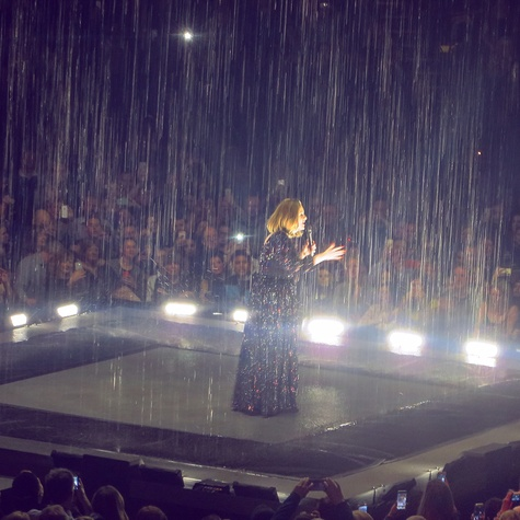 Adele in London concert