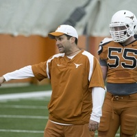 Austin Photo Set: News_trey_spring practice_march 2013_manny diaz_ut longhorns