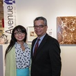18 Van Ngo and David Ruiz at the Art on the Avenue benefit November 2014