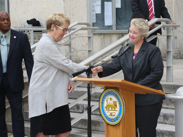 Transported + Renewed Launch with Mayor Annise Parker September 2014