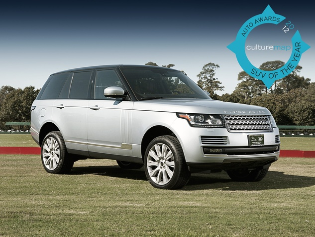 suv of the year 2013 range rover crash diets and keeps its crown w culturemap houston. Black Bedroom Furniture Sets. Home Design Ideas