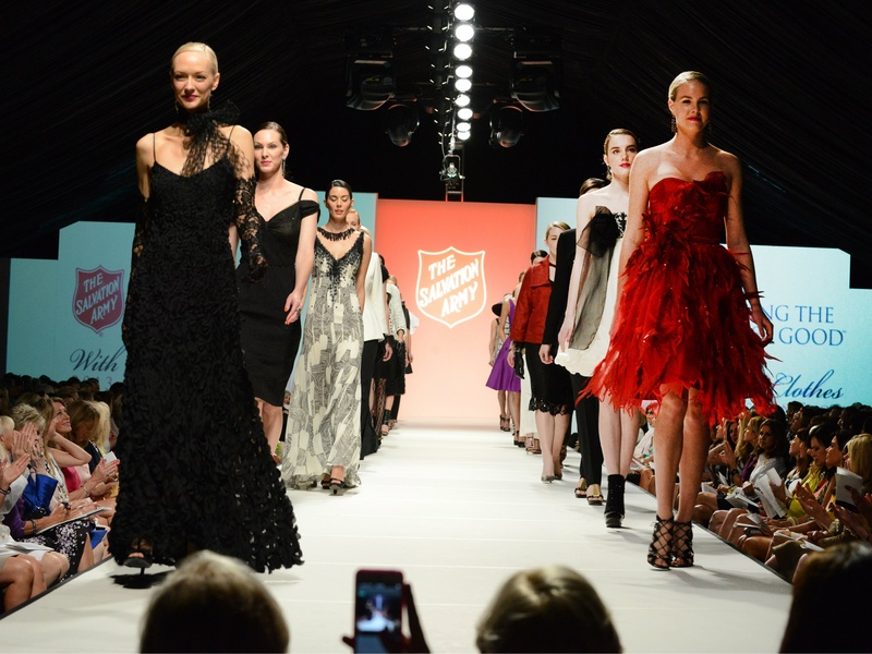 Salvation Army Fashion Show and Luncheon