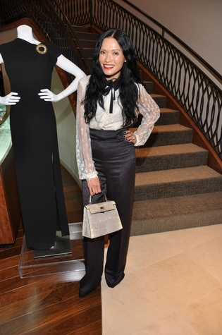 Duyen Huynh at the Elizabeth Anthony expansion party October 2014