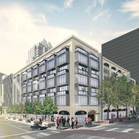 A rendering of Littlefield Lofts at Sixth and Brazos