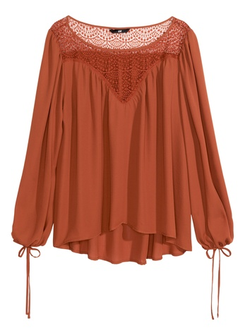 Boho blouse from H&M