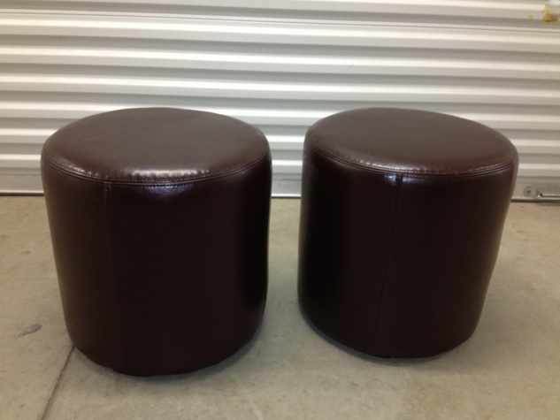 Buy Design Exchange December 2014 Leather Stools