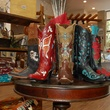 King Ranch Saddle Shop, CityCentre, December 2012, cowboy boots