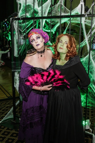 3 Amy McGee, left, and Rose Riggs at The Patroleum Club Halloween party November 2014