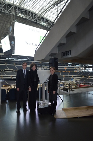 Dallas Opera, Death and the Powers, Cowboys Stadium