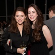 11 Sara Cain, left, and Lela Brodsky at the Menil Young Professionals party December 2013