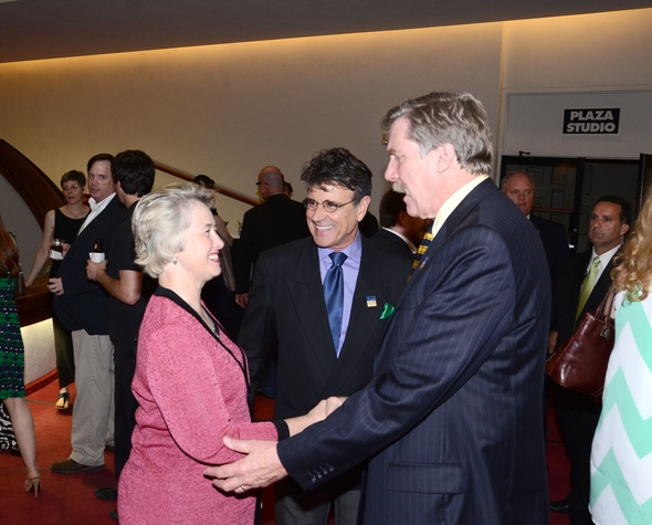 29 Actors' Equity Fund anniversary event September 2013 Mayor Annise Parker, David Grant, Nick Wyman