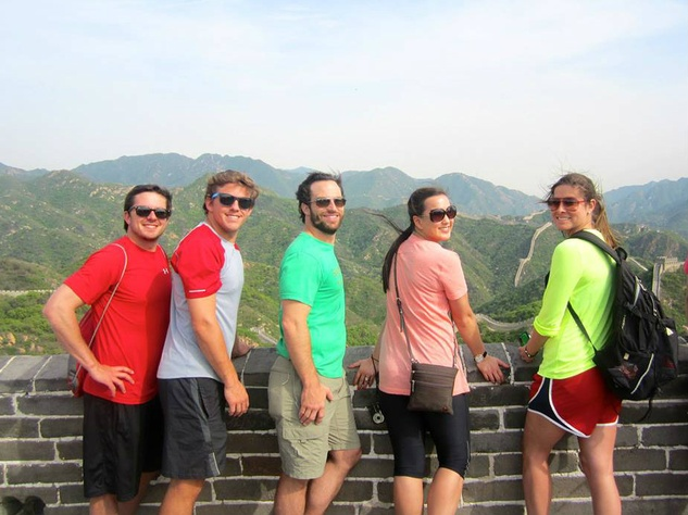 SMU Cox students on GLP trip
