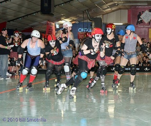 Austin_photo: event_texas rollergirls championships_girls