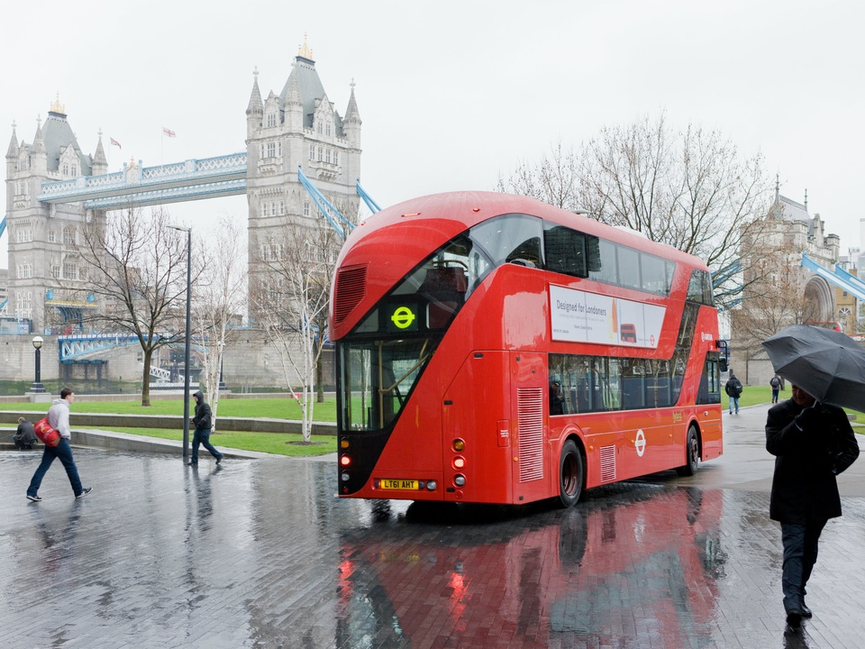 New Bus for London by Thomas Heatherwick