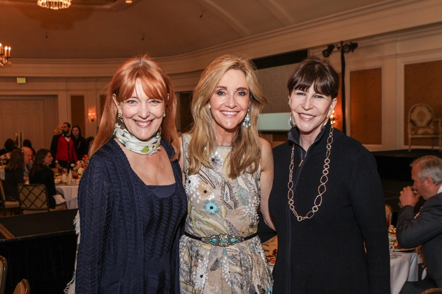 Gracie Cavnar, from left, Jana Arnoldy and Shelby Hodge at the Passion for Fashion luncheon March 2014