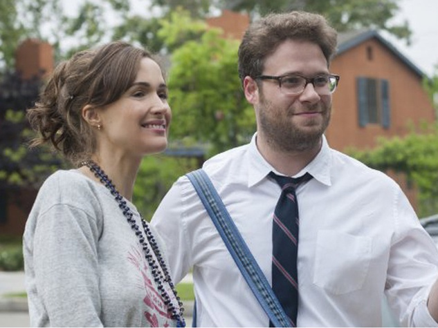 Seth Rogen and Rose Byrne in Neighbors
