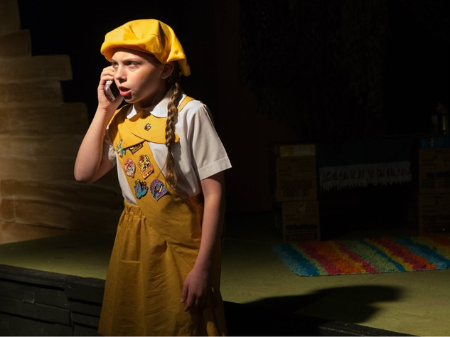 "Lynley Glicker as Dana in ""Daffodil Girls"" at Fun House Theatre and Film"