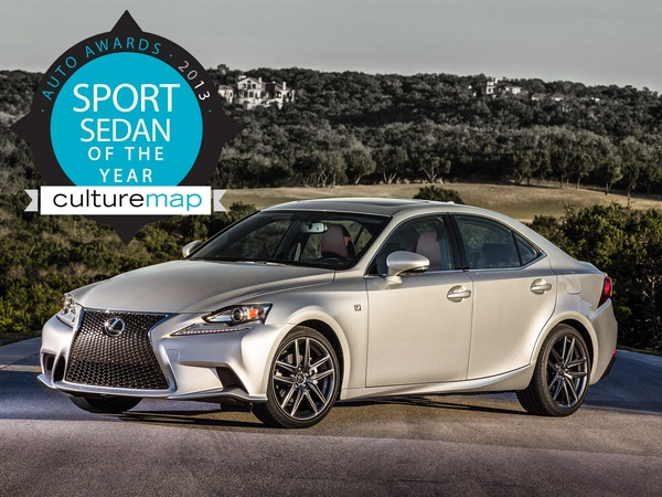 Sport Sedan Of The Year: 2014 Lexus IS F Sport Breaks BMW Stranglehold    CultureMap Houston