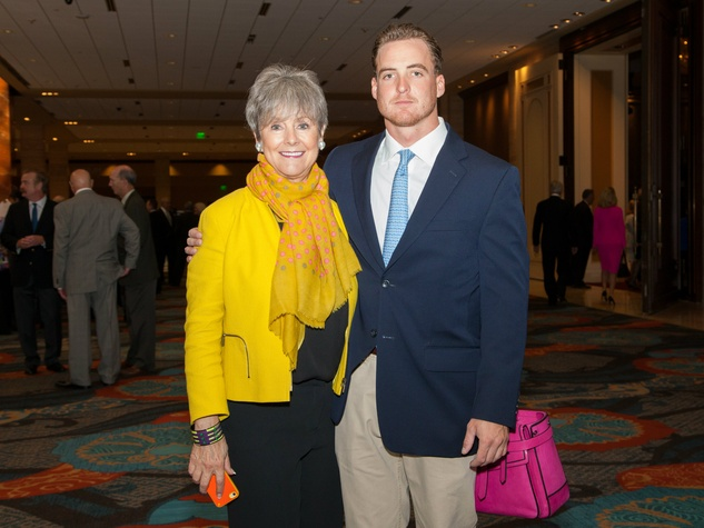 Jackie Dix, John Dix at Living Legend Luncheon with George W. Bush