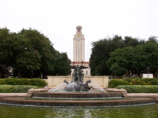University of Texas fountain