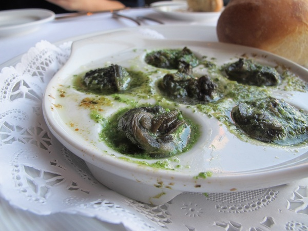 Ruthie, where to eat right now, December 2012, Etoile, escargot, snails