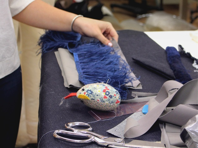 University of Texas fashion show Elements preview class April 2016 denim Clare Moore