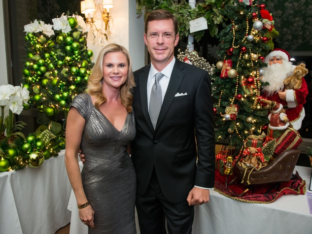 12 Rachel and Christopher Boehler at the Trees of Hope Gala November 2014