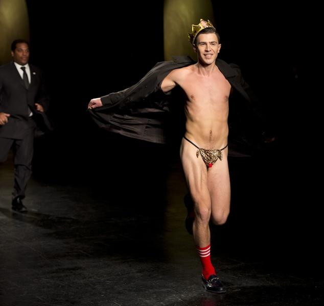 Hot Nude Fashion Show