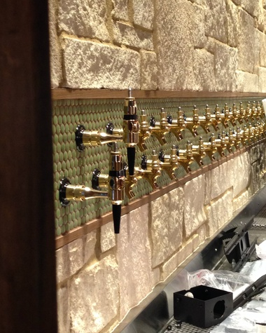 Whole Foods Domain oyster bar taps